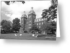 Washington And Jefferson College Old Main Greeting Card by University Icons