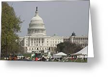 Washington Dc - Us Capitol - 01134 Greeting Card by DC Photographer