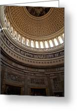 Washington Dc - Us Capitol - 01139 Greeting Card by DC Photographer