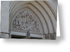 Washington National Cathedral - Washington Dc - 0113118 Greeting Card by DC Photographer