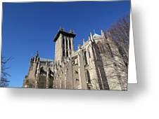 Washington National Cathedral - Washington Dc - 0113126 Greeting Card by DC Photographer