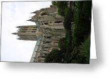 Washington National Cathedral - Washington Dc - 011350 Greeting Card by DC Photographer