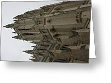 Washington National Cathedral - Washington DC - 011357 Greeting Card by DC Photographer
