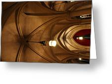 Washington National Cathedral - Washington Dc - 011374 Greeting Card by DC Photographer