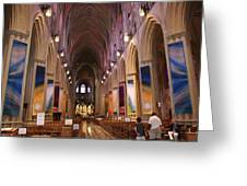 Washington National Cathedral - Washington Dc - 011376 Greeting Card by DC Photographer