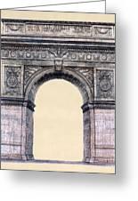 Washington Square Arch New York City Greeting Card by Gerald Blaikie