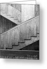 Washington University Eliot Hall Stairway Greeting Card by University Icons