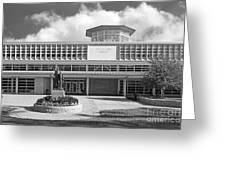 Washington University Olin Library Greeting Card by University Icons