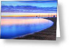 Water Colors Greeting Card by JC Findley
