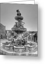 Water Fountain Greeting Card by Kathleen Struckle