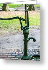 Water Pump  Greeting Card by Steven  Taylor