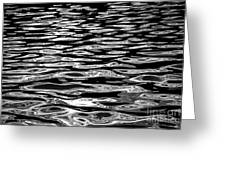 Water Surface Abstract Greeting Card by Elena Elisseeva