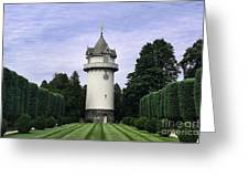 Water Tower Folly Greeting Card by John Greim