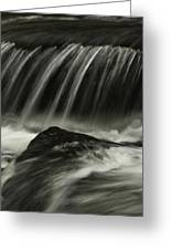 Waterfall Greeting Card by AR Annahita