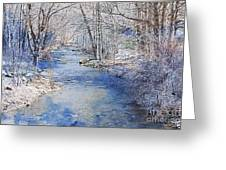 Water's Edge Greeting Card by A New Focus Photography