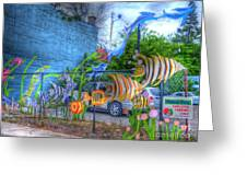 Waterworld Dreams Greeting Card by MJ Olsen