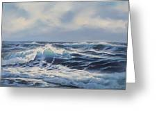 Wave Study 3 Greeting Card by Samuel Earp