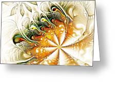 Waves and Pearls Greeting Card by Anastasiya Malakhova
