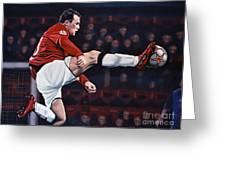 Wayne Rooney Greeting Card by Paul Meijering