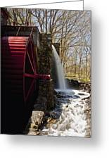 Wayside Grist Mill 2 Greeting Card by Dennis Coates