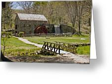 Wayside Grist Mill 8 Greeting Card by Dennis Coates