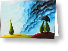 Weather Change Greeting Card by Nirdesha Munasinghe
