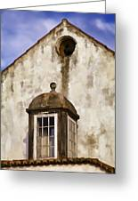 Weathered Home Of Old World Europe Greeting Card by David Letts