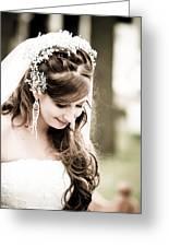 Wedded Love Greeting Card by Nelieta Mishchenko