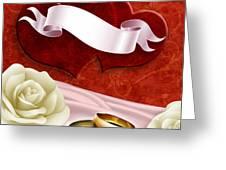 Wedding Memories V2 Passion Greeting Card by Bedros Awak