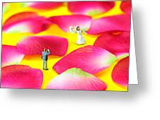 Wedding Photography Little People Big Worlds Greeting Card by Paul Ge