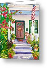 Welcome Home Greeting Card by Michelle Wiarda