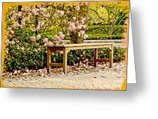 Welcome Spring Greeting Card by Carol F Austin
