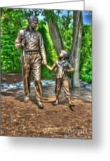 Welcome To Mayberry Greeting Card by Dan Stone