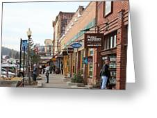 Welcome To Truckee California 5d27445 Square Greeting Card by Wingsdomain Art and Photography