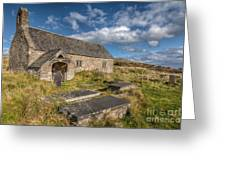 Welsh Church Greeting Card by Adrian Evans
