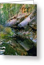 West Branch Oak Creek Greeting Card by Joshua House
