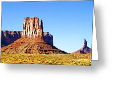 West Mitten - Monument Valley Greeting Card by Douglas Taylor