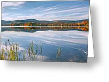 West Twin Lake Greeting Card by Bill  Wakeley
