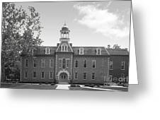 West Viriginia University Martin Hall Greeting Card by University Icons