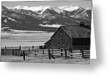 Westcliffe Colorado Greeting Card by Jerry Mann