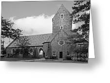 Western College For Women Chapel Greeting Card by University Icons