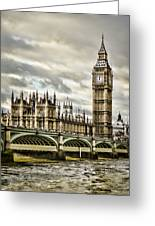 Westminster Greeting Card by Heather Applegate