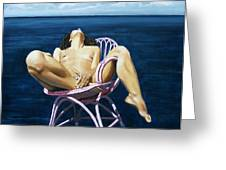 Wet Dream Greeting Card by Jo King