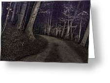 What Lies Lurking Greeting Card by William Fields