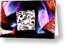 What's In The Box? Greeting Card by Anne-Elizabeth Whiteway