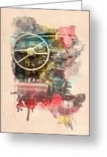 Wheel Greeting Card by Martin Dzurjanik