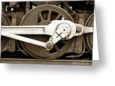 Wheel Power Greeting Card by Olivier Le Queinec