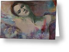 When a dream has colored wings Greeting Card by Dorina  Costras
