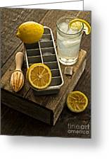 When Life Gives You Lemons... Greeting Card by Edward Fielding