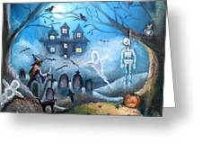 When October Comes Greeting Card by Shana Rowe Jackson